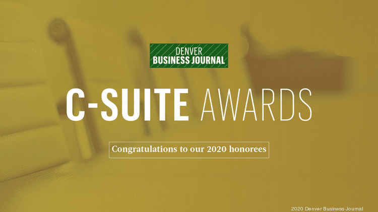 Denver Business Journal C-Suite Awards 2020