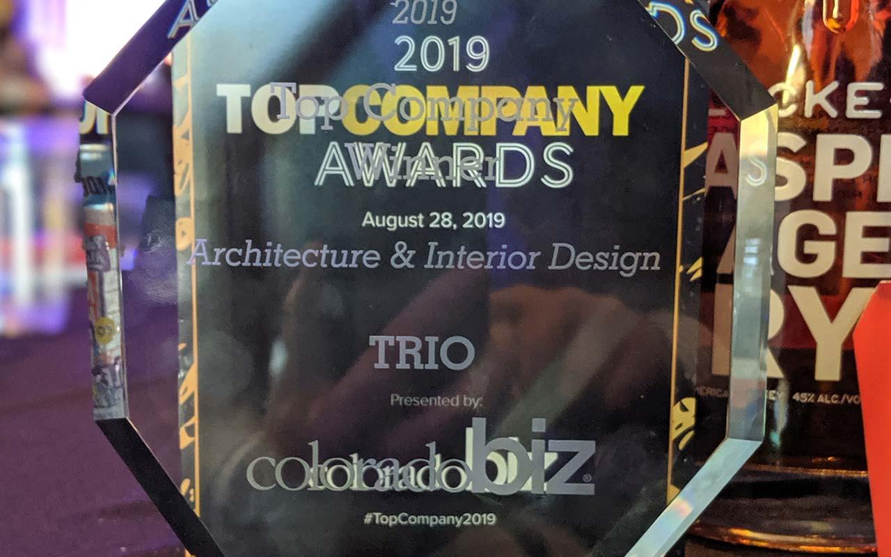TRIO Wins CoBizMag Top Company of 2019