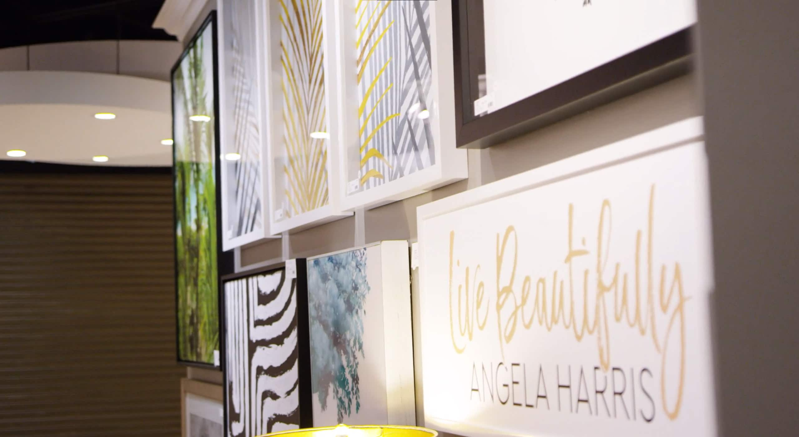 Angela Harris Wall Art Collection for Paragon & Propac